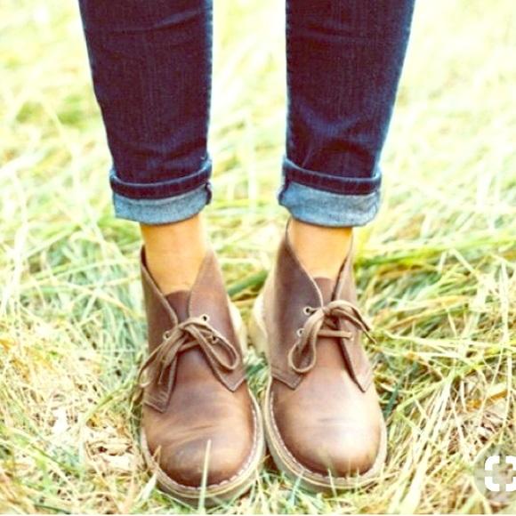 Estragos aleatorio Revelar  Clarks Shoes | Clarks Desert Chukka Booties Women | Poshmark